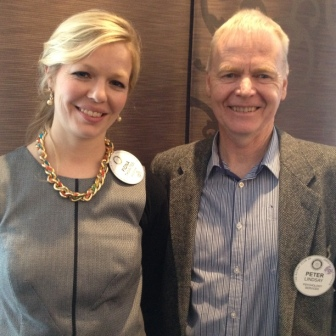 Fiona Thwaites and Peter Lindsay