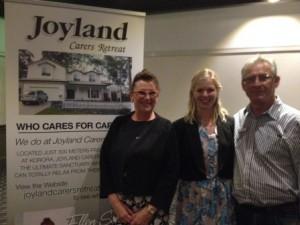 Ellen Slater, Rotarian Fiona Thwaites and Alex Andersons